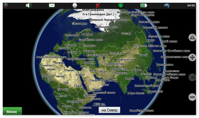 Карты в Навител