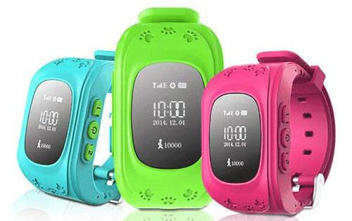 Детские GPS-часы Smart Baby Watch Q50