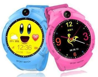 Детские GPS-часы Smart Baby Watch Q610