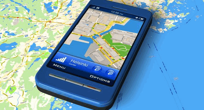 Навигатор смартфон