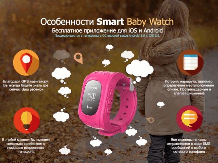 Особенности Детских GPS часов
