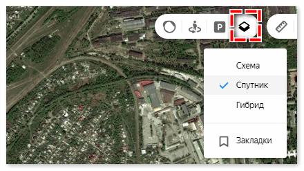 Слои в Яндекс картах
