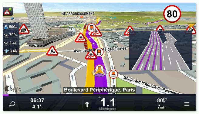 Sygic GPS Navigation значки ремонтных робот