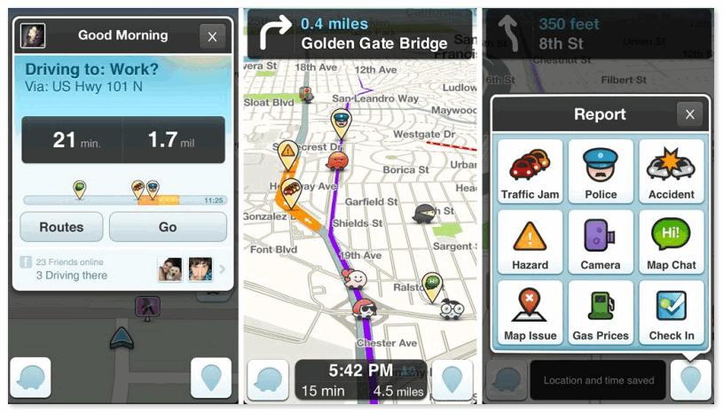 Waze навигатор на телефон
