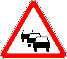 Затор на дорогах