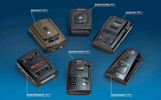 Лучшие сигнатурные радар-детекторы на рынке