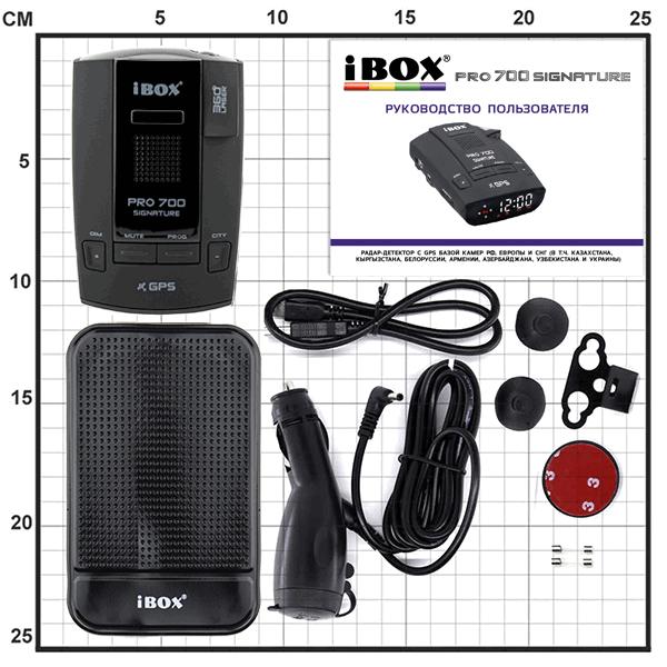 Модель iBOX PRO 700 Signature