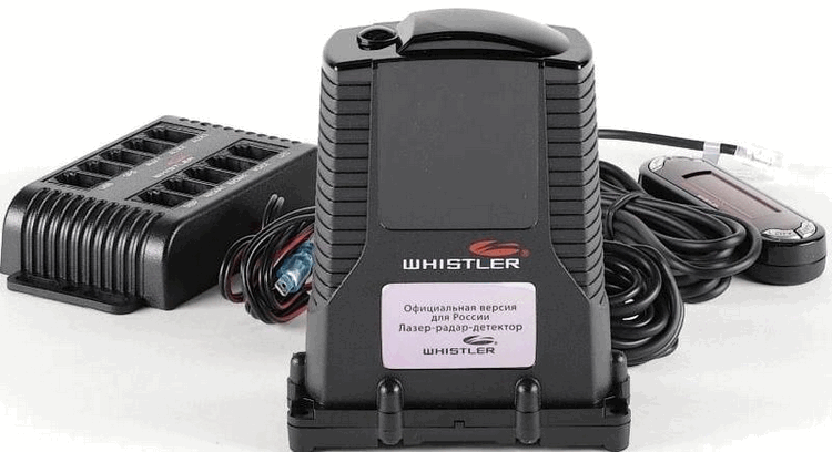 Радар-детектор WHISTLER PRO 3600ST Ru GPS
