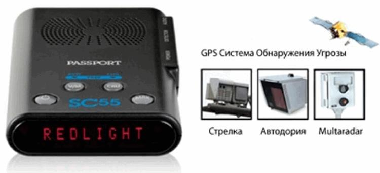Возможности радаров Escort SC55